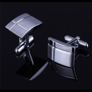 Other - Men's French Shirt Silver Cuff Links